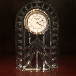 Waterford Crystal Large Decco Clock NWOT